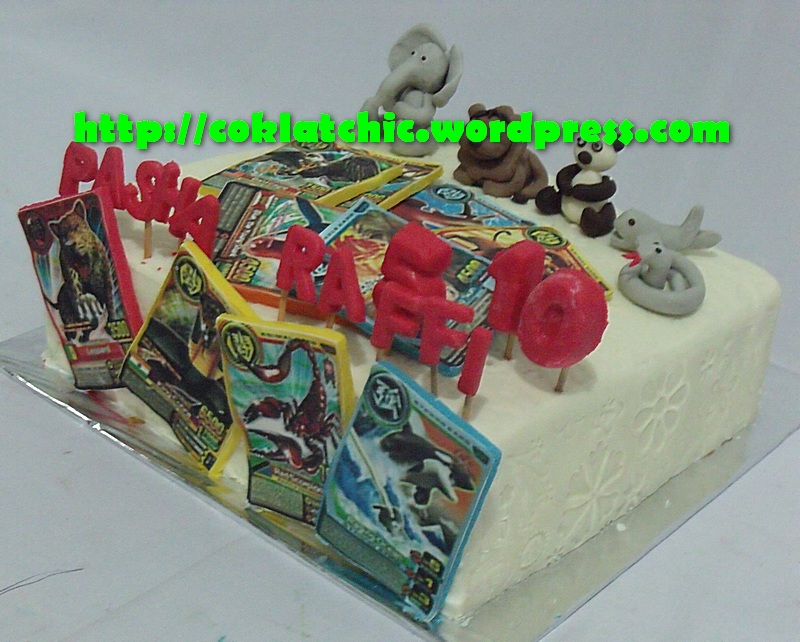 Animal Kaiser cake PASHA dan RAFFI Jual Kue Ulang Tahun