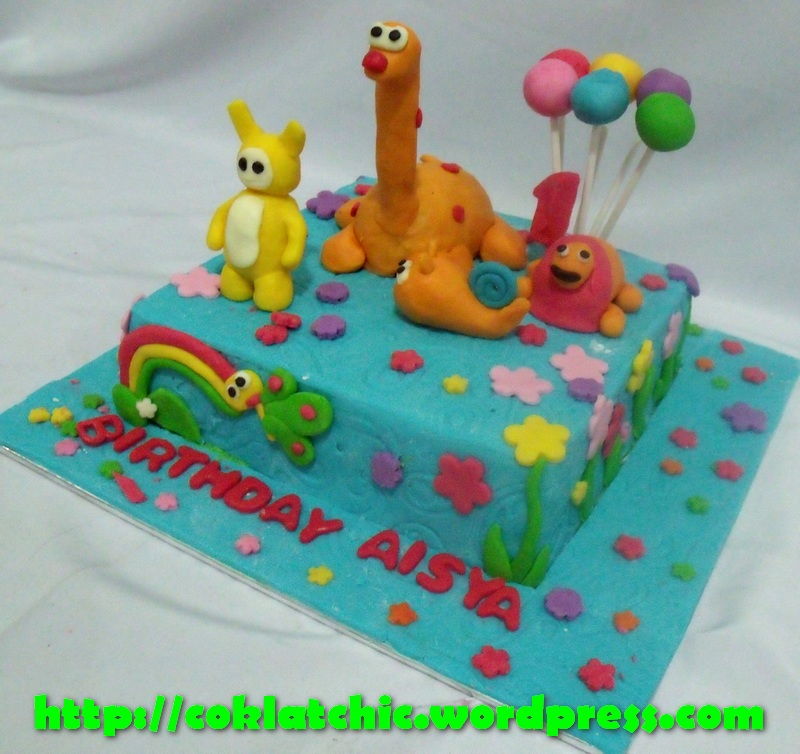 Baby TV cake   AISYA Jual Kue Ulang Tahun
