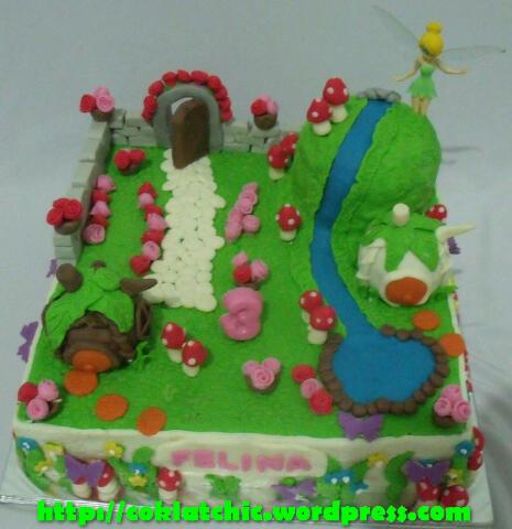 The Fairies Cake Dan Artinya : Tinkerbell Jual Kue Ulang Tahun Page 5