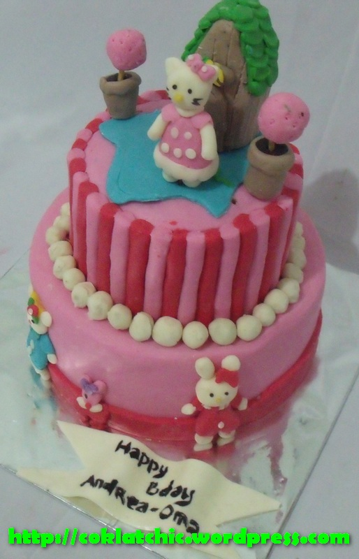 Foto Kue Ulang Tahun Hello Kitty Di Lily Cake