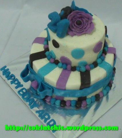 Kue 2 Tingkat Ardi Coklatchic Cake