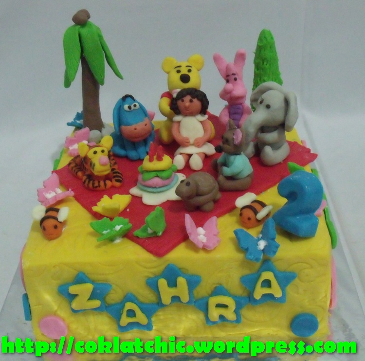 Winnie The Pooh Party Cake