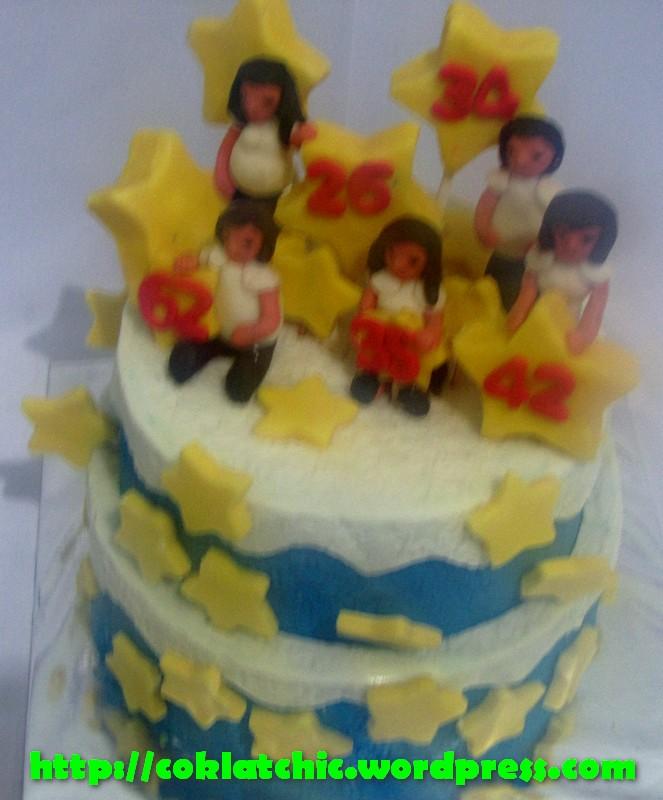 Kue Bintang Dan Umur Olin Coklatchic Cake