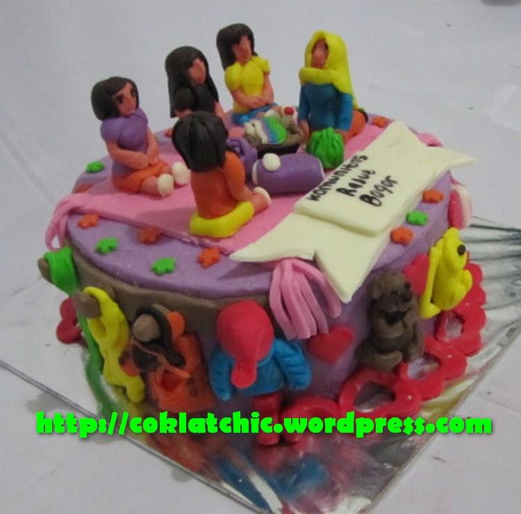Kue Komunitas Rajut Bogor Jual Kue Ulang Tahun