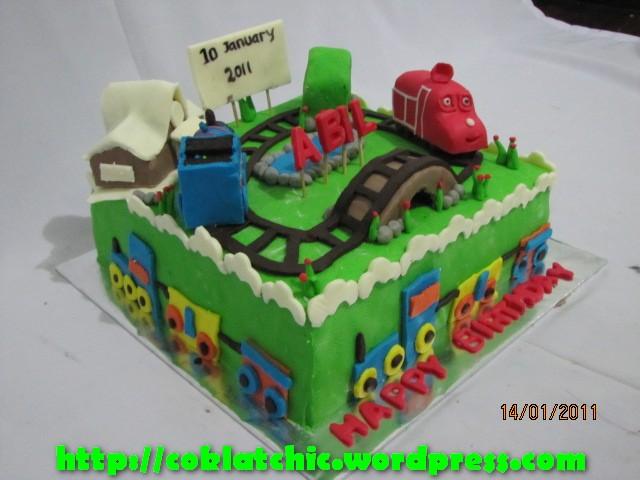 Kue ulang tahun chuggington dan thomas – ABIL