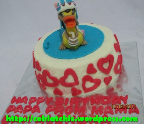 ... tema Cake one piece chopper carrue mulai dari harga Rp 200 ribu