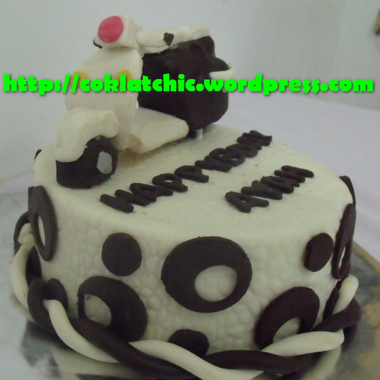 Cake Vespa AYAH Jual Kue Ulang Tahun