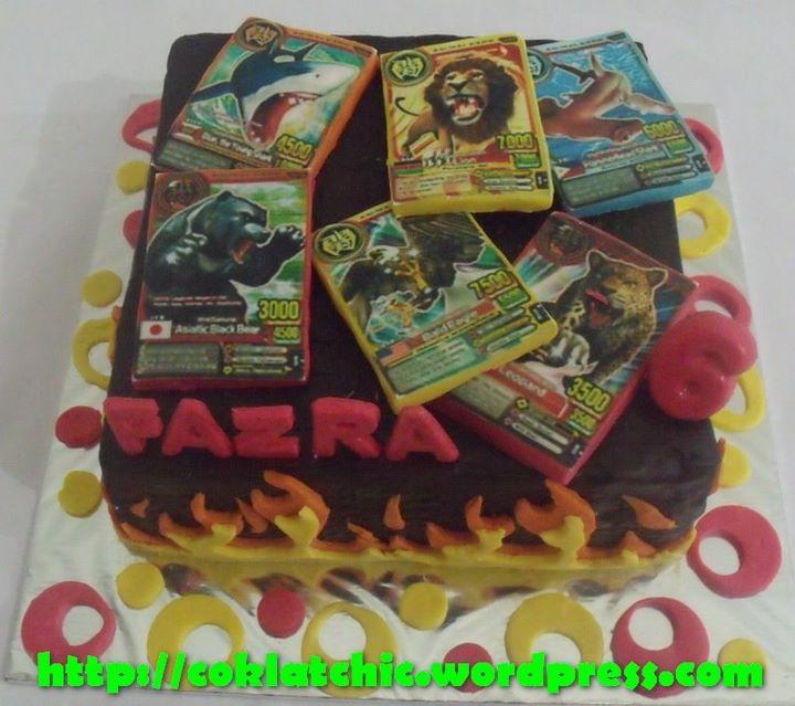 Cake animal kaiser FAZRA Jual Kue Ulang Tahun