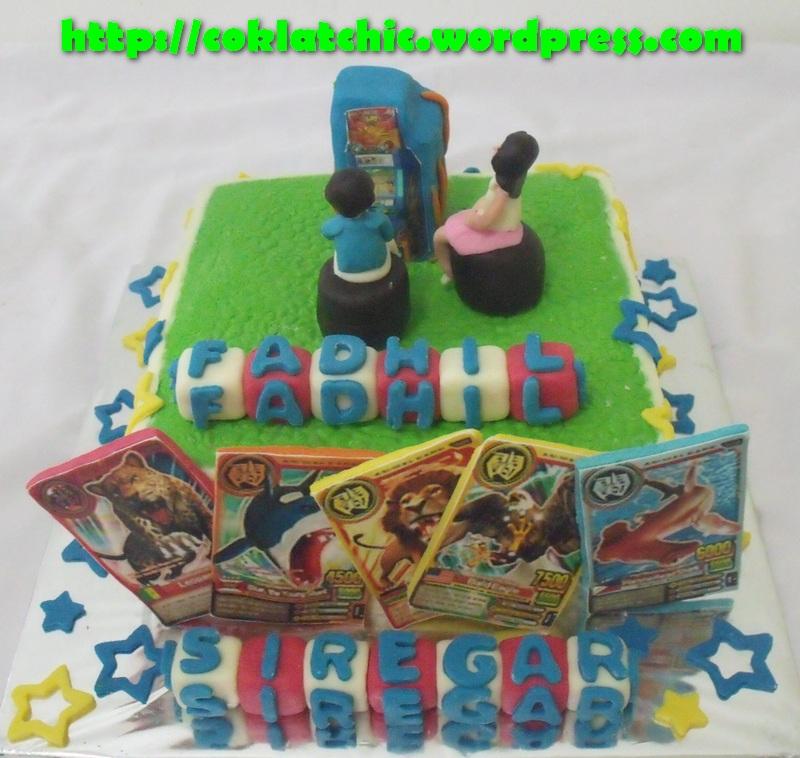 Cake Animal Kaiser FADHIL Jual Kue Ulang Tahun