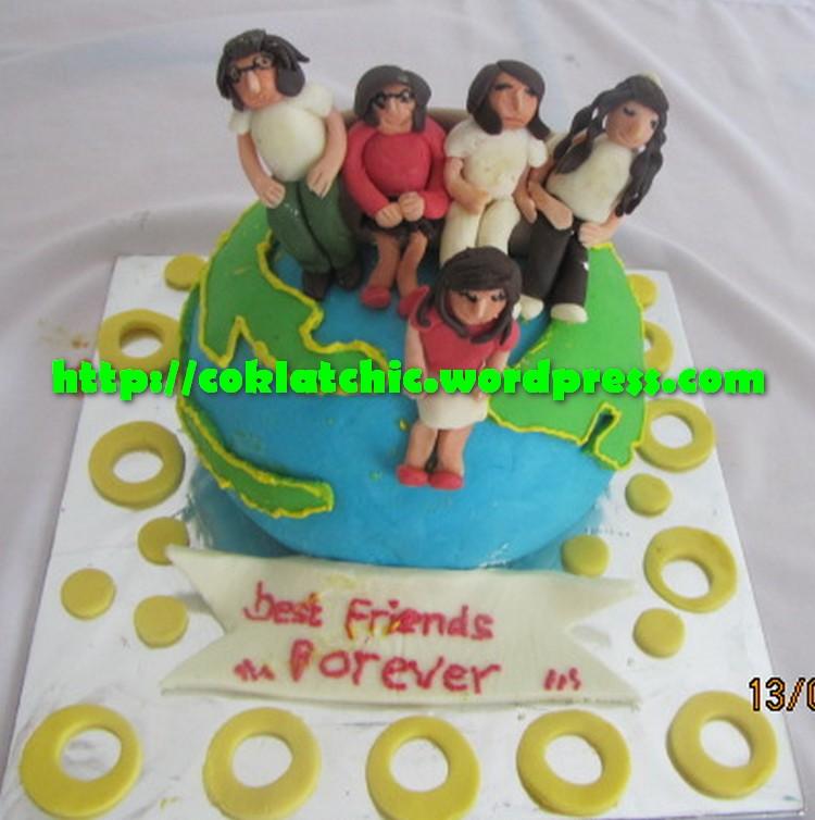 Kue ulang tahun dengan tema cake globe model ini mulai dari harga rp