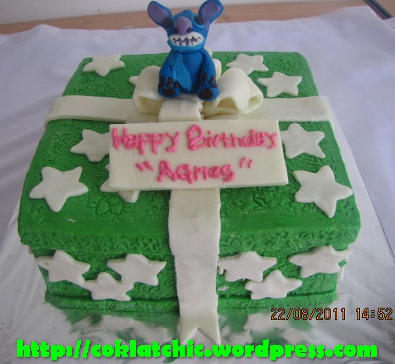Kue ulang tahun dengan tema cake stitch model ini mulai dari harga rp