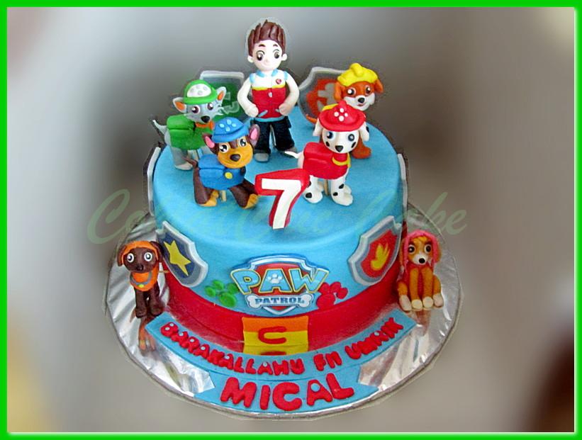 Paw Patrol Coklatchic Cake