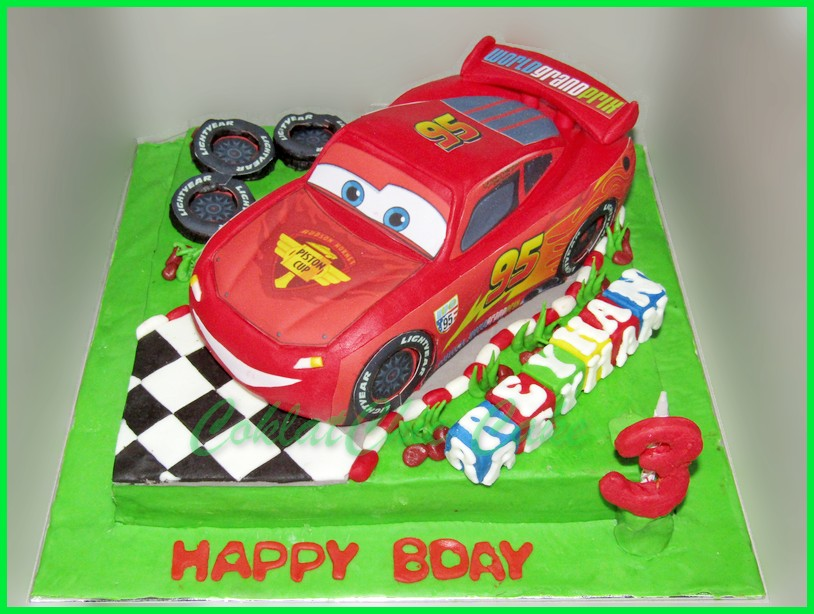 Lightning Mcqueen Cars Page 2 Coklatchic Cake