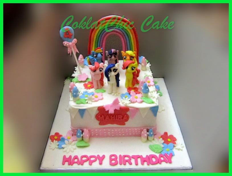 Cake My Little Pony Mahira Coklatchic Cake