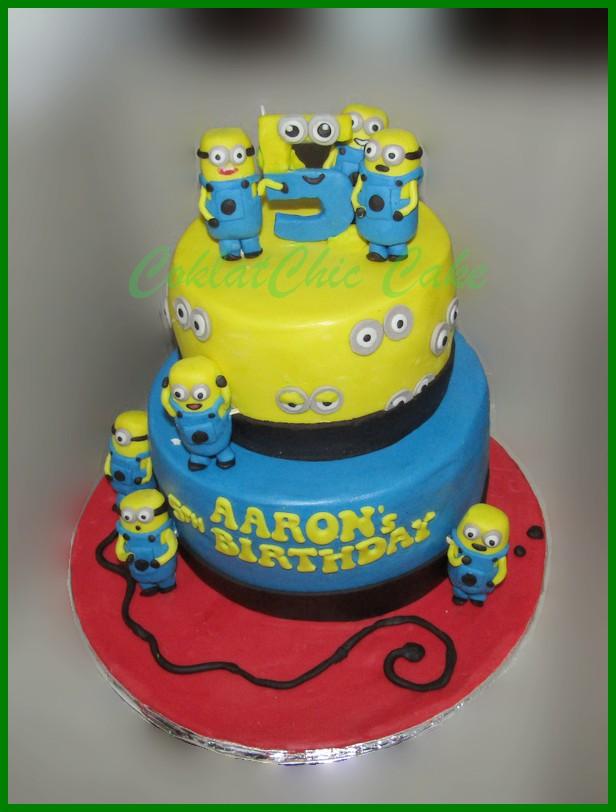 Despicable Me Minion Coklatchic Cake