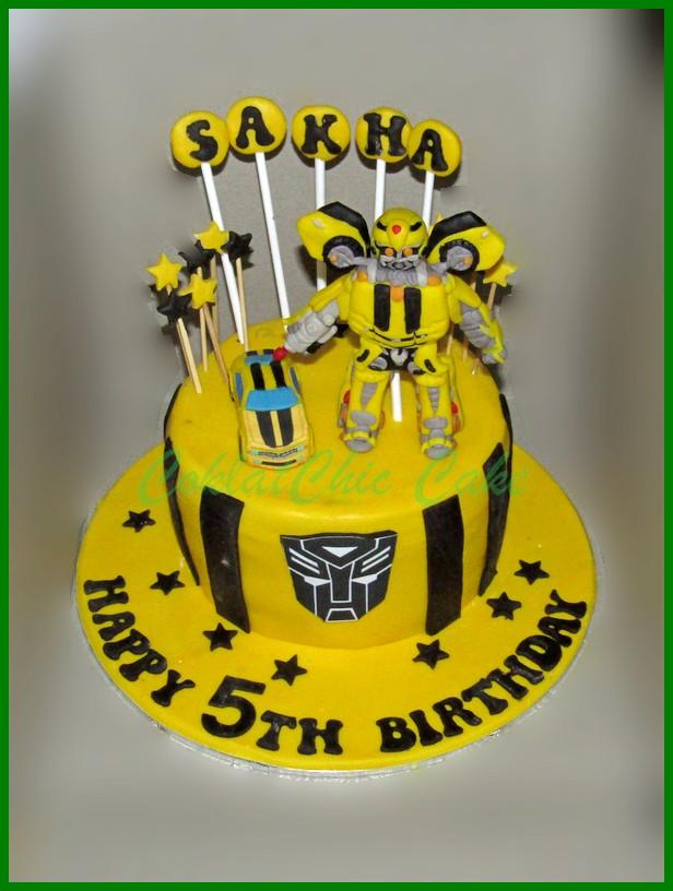 Transformer Dan Robot Page 2 Coklatchic Cake