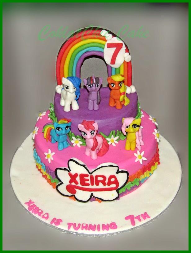 My Little Pony Page 4 Coklatchic Cake