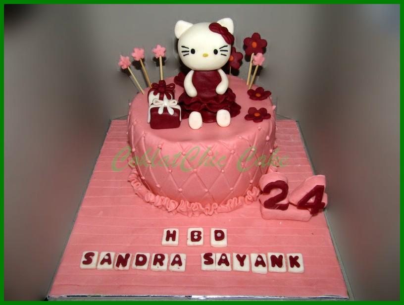 Daftar Harga Kue Ulang Tahun Hello Kitty Berbagai Kue