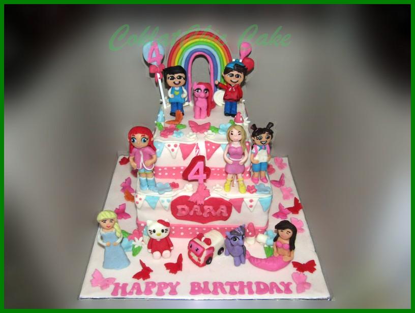 Disney Frozen Coklatchic Cake