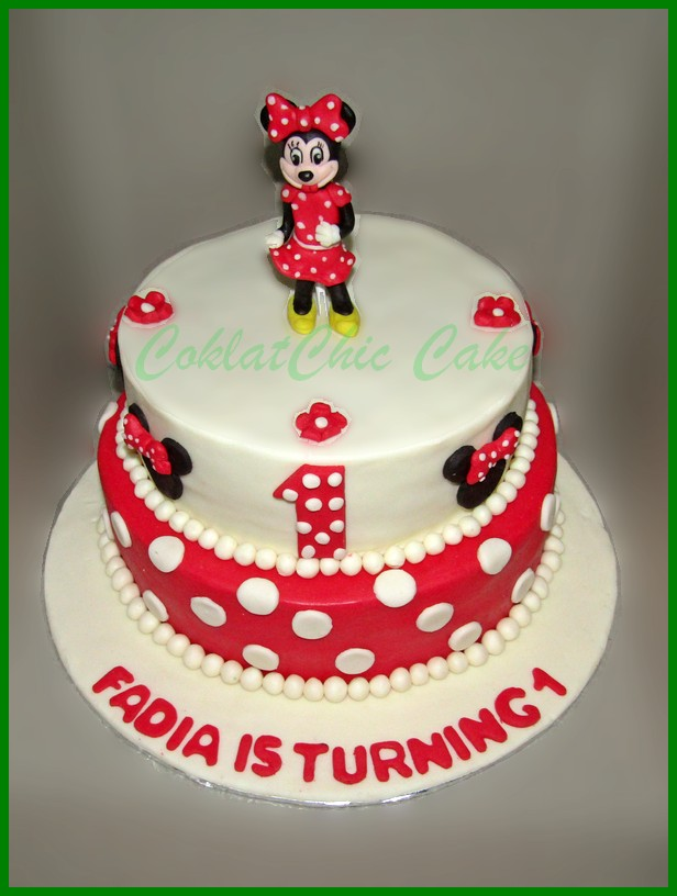 Mickey Mouse N Friends Page 2 Coklatchic Cake
