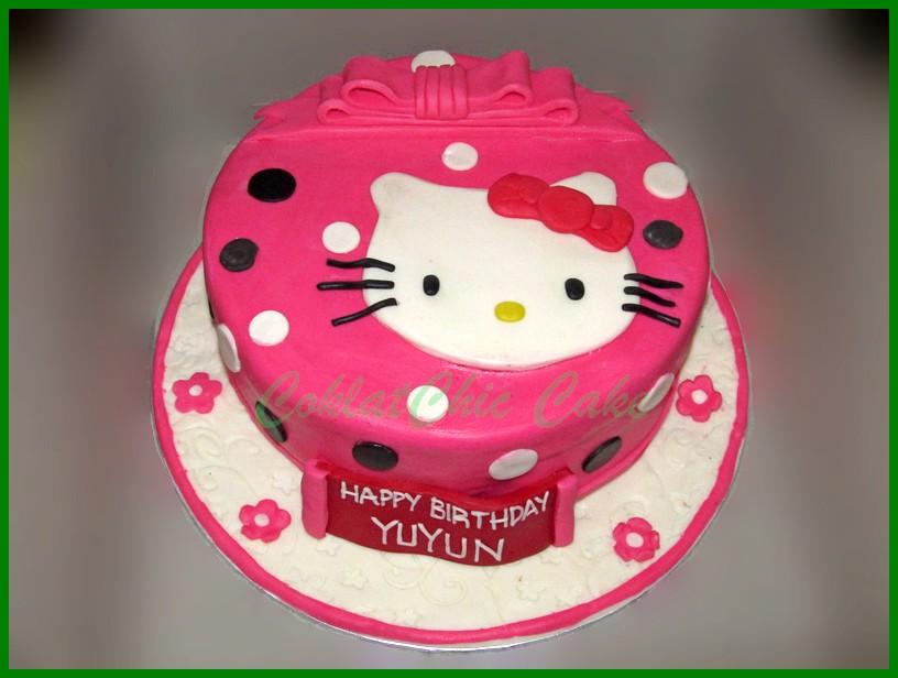 Contoh Gambar Kue Ultah Hello Kitty Berbagai Kue