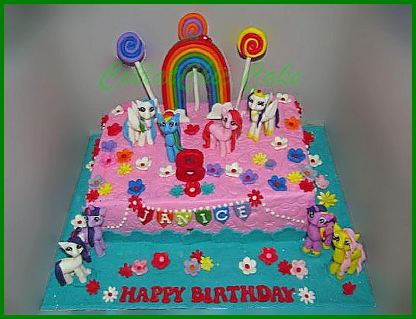 My Little Pony Page 2 Coklatchic Cake