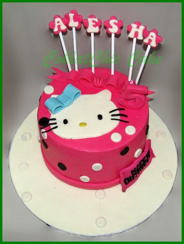 Cake Hello Kitty Alesha Coklatchic Cake