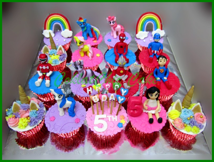 My Little Pony Coklatchic Cake