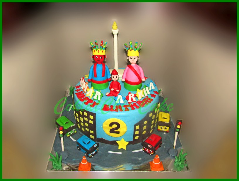 Tayo The Little Bus Coklatchic Cake