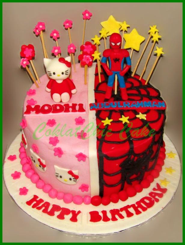 Hello Kitty Coklatchic Cake